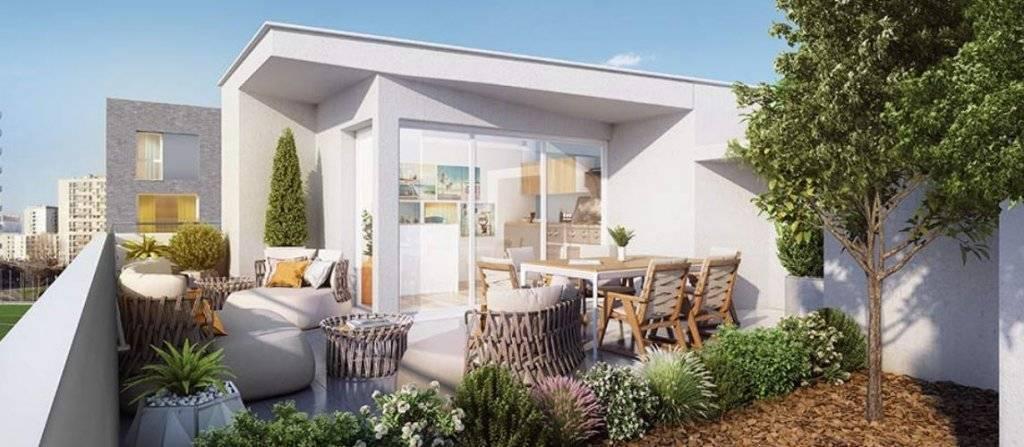 Appartement 2 pièces - 41 m2 - 2e étage avec balcon 5 m2