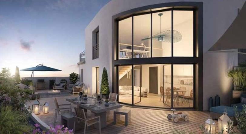 Appartement 5 pièces duplex - 108 m2 - Dernier étage avec 2 terrasses