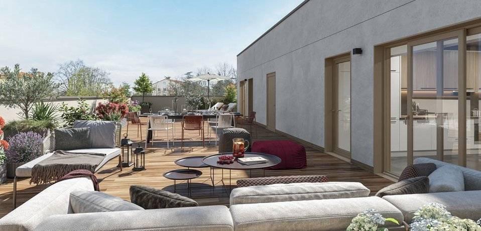 5 pieces attique de 145m² sur 99m² de terrasse