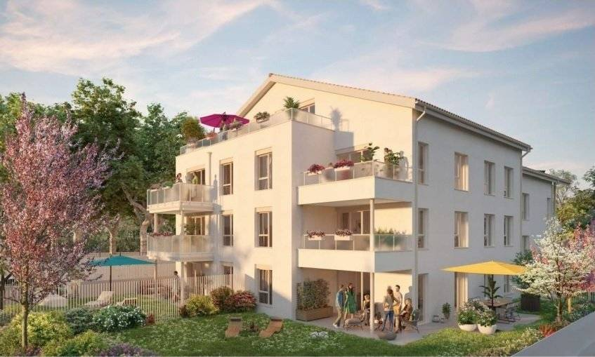 St-Priest Village 3 pieces avec balcon