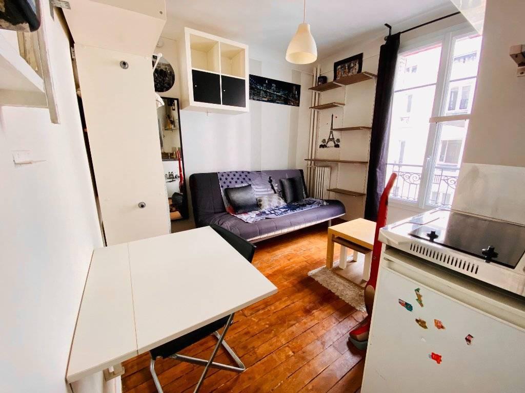 Appartement Paris 1 pièce(s) 12.82 m2