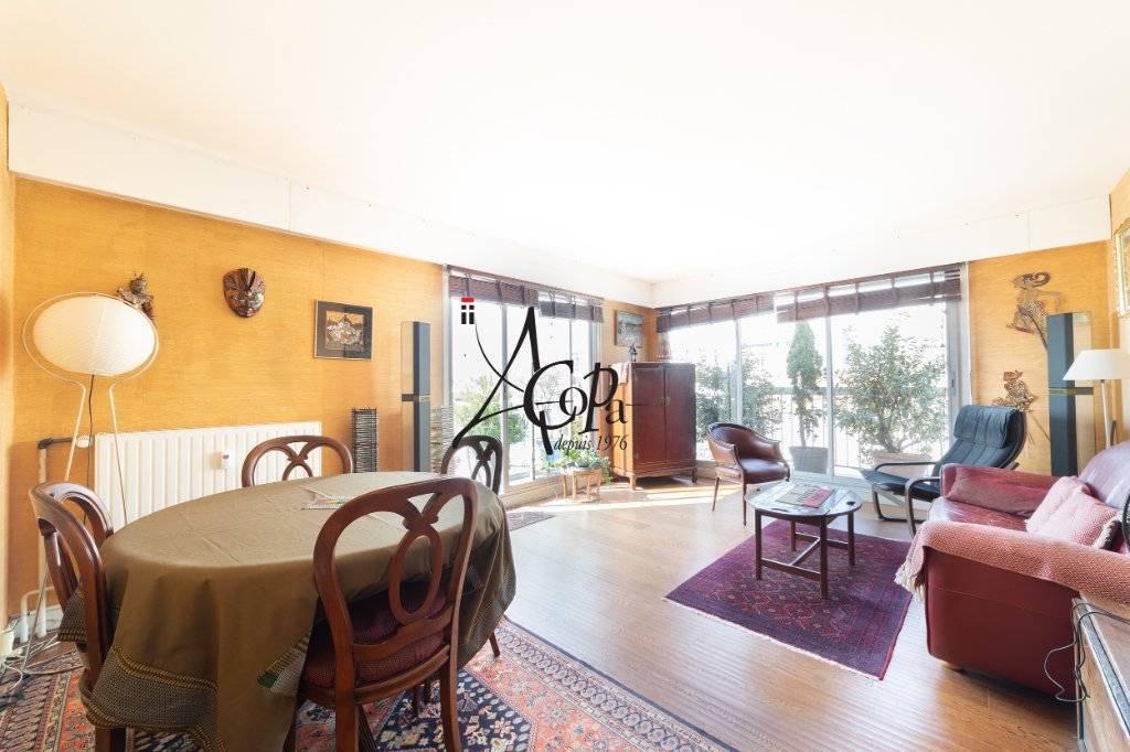 Appartement Paris 4 pièce(s) 80 m2 + 25 m² balcons + Box