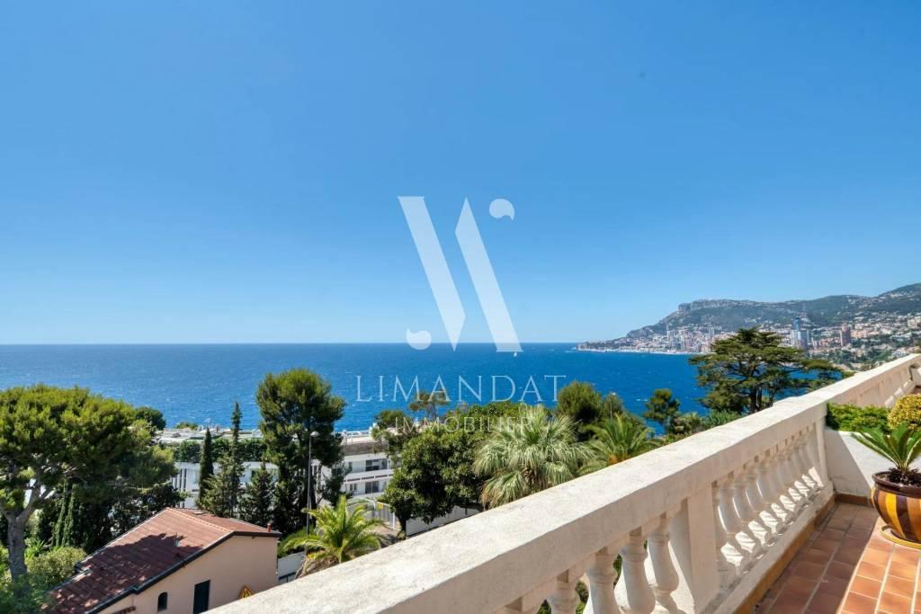 Roquebrune Cap Martin - 3 pièces 87 m2 terrasse 28 m2 garage