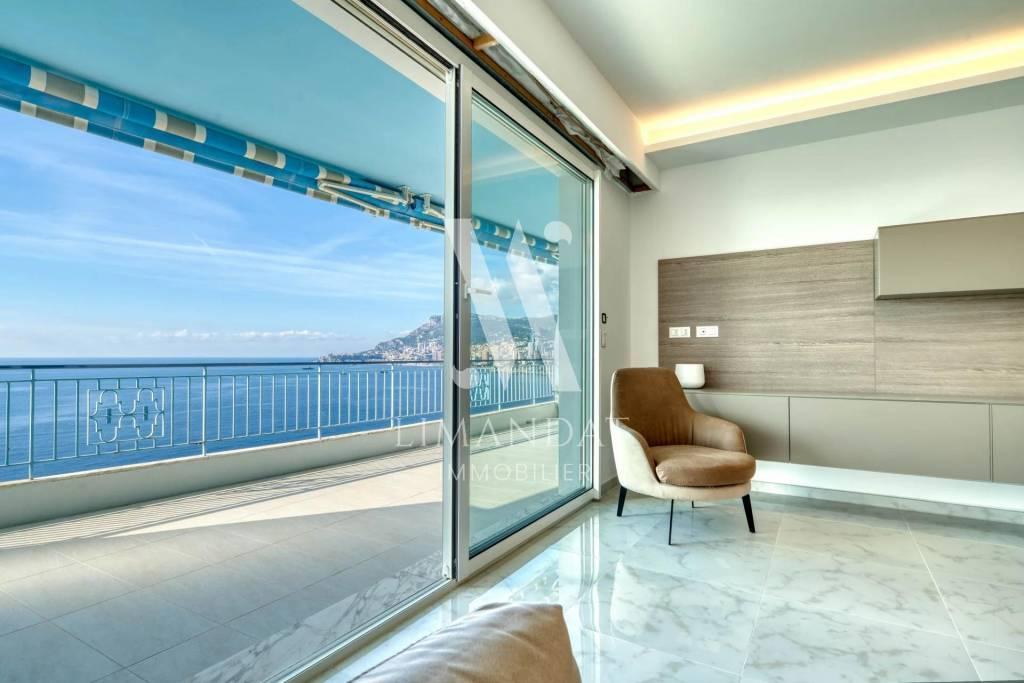 Roquebrune Cap Martin - 3/4 rooms 90 m2 terrace garage cellar