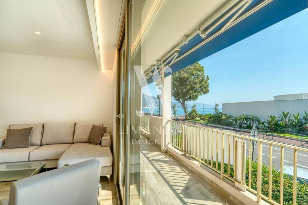 Roquebrune Cap Martin - seaside - 3 rooms 60 m2 terrace