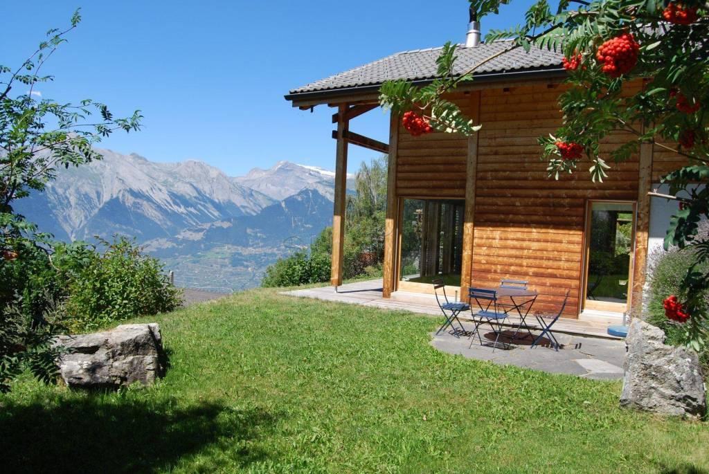 Weekly renting - 4.5 room chalet Au Bisse - 6 person