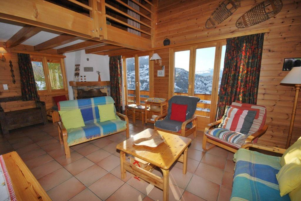Weekly renting - 4.5 room chalet Gamine - 8 person