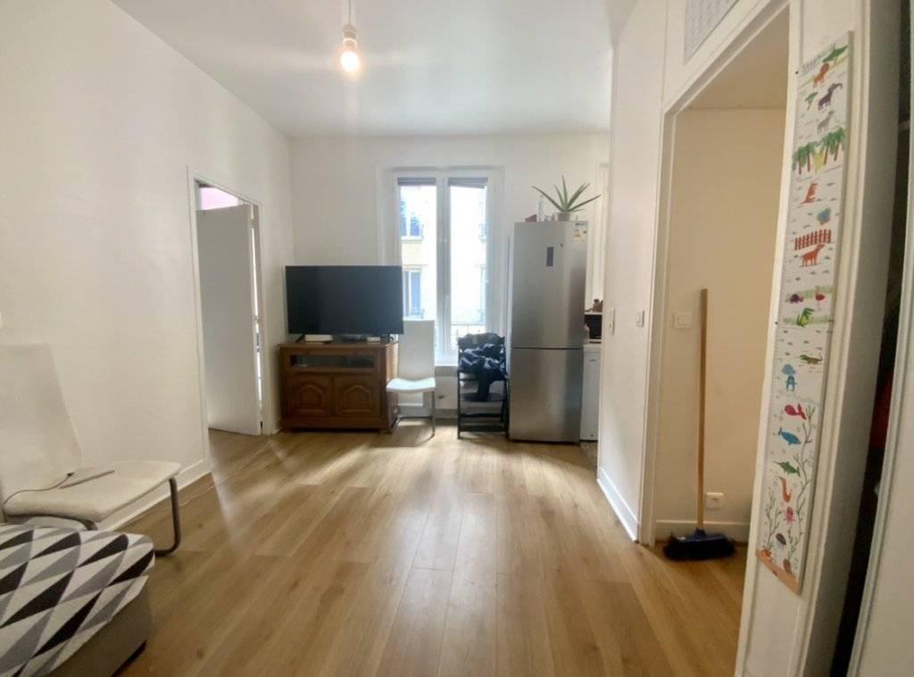 Appartement 2 pièces de 33 m2 à Saint-Ouen
