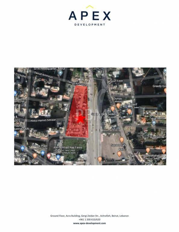 Sale Plot of land Achrafieh Sodeco