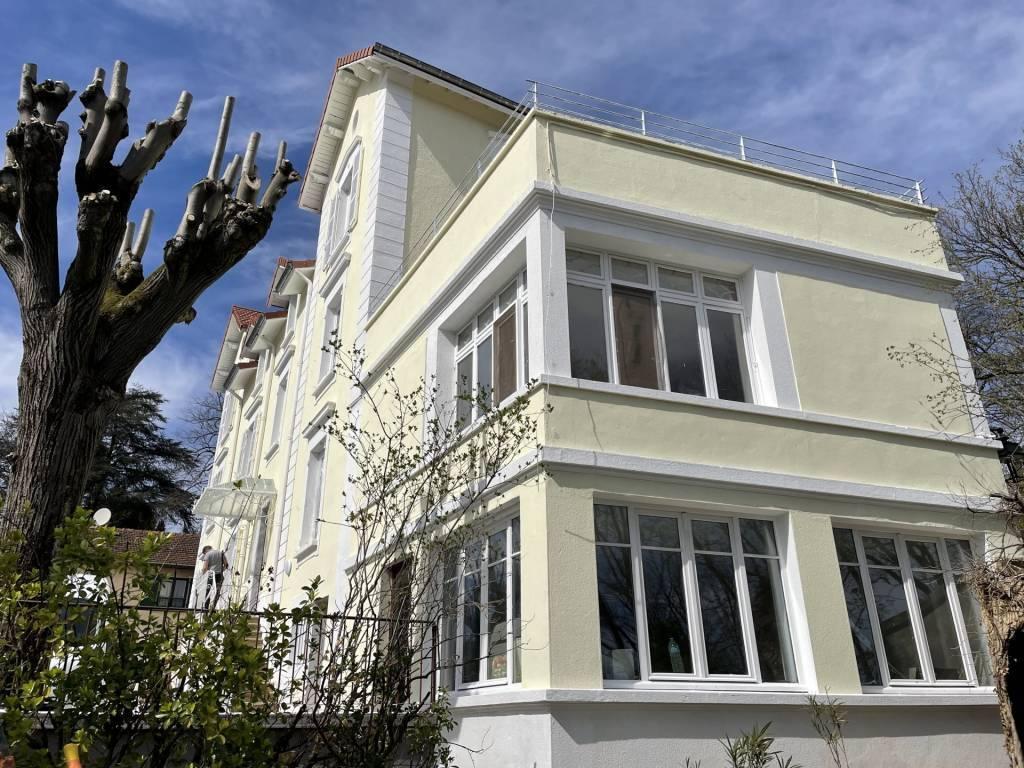 Albigny-sur -Saone, appartement T3, jardin de 300m2