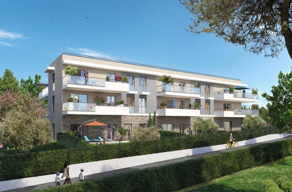 Development Apartment Le Cannet Rocheville