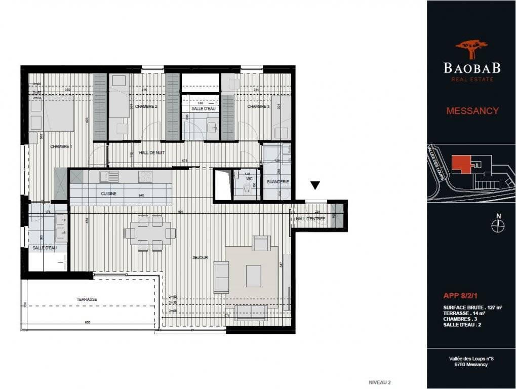 Vente Penthouse Messancy