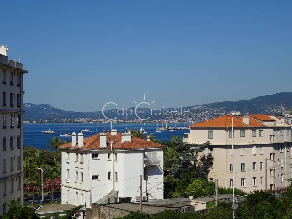 Cannes - Basse Californie Joli 2P avec terrasse vue mer et jardin