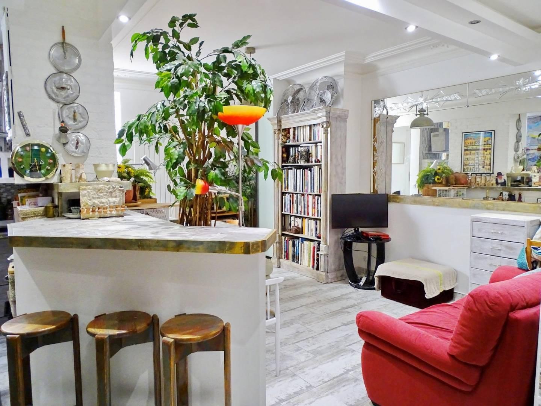 Living-room Kitchen bar