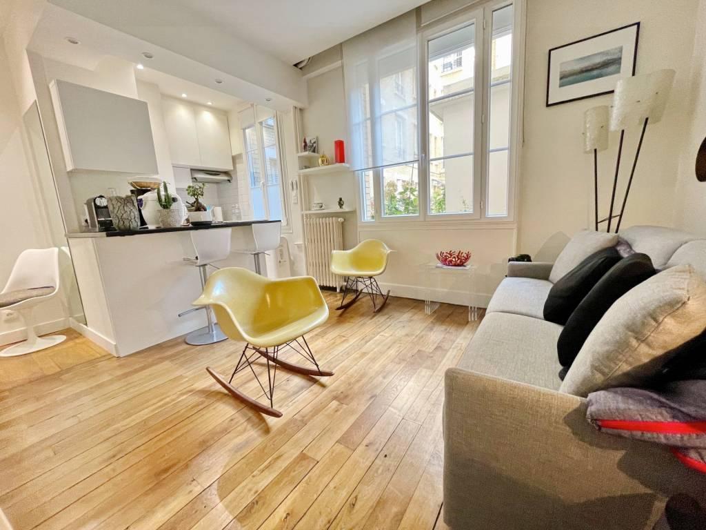 Appartement 27 m2 Rue Chaptal