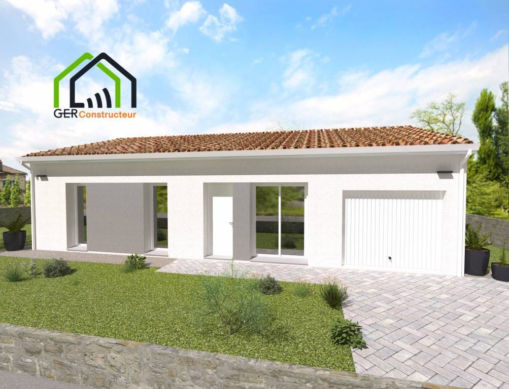Maison t4 à Leboulin