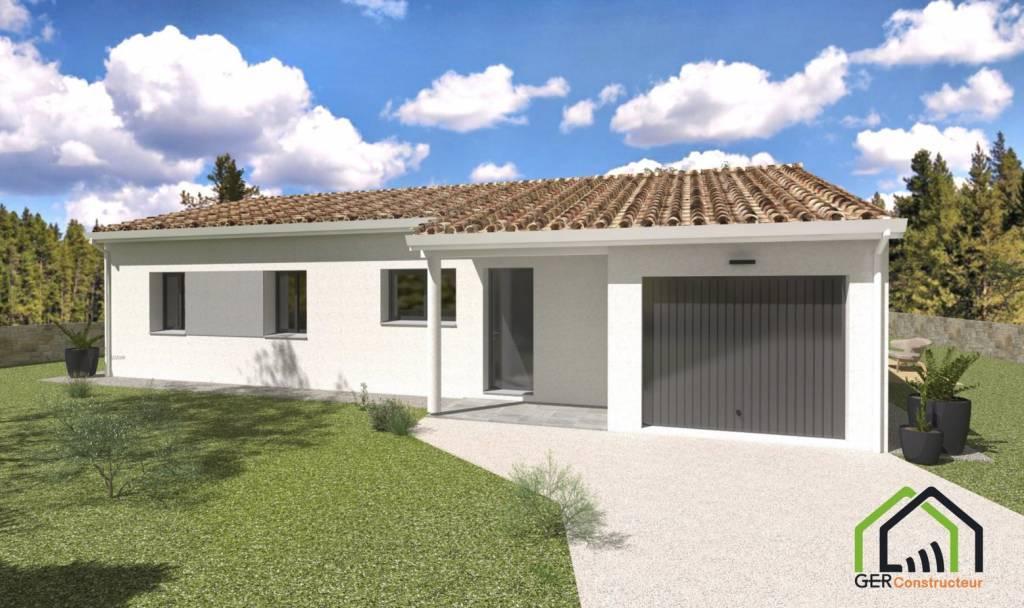 Auch Maison neuve T4 avec garage