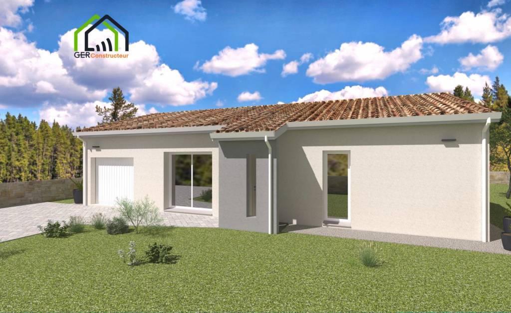 Maison T4 avec garage à Mauvezin ( 32 )