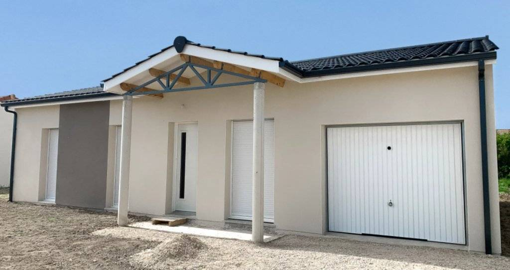 Maison neuve T4 proche d'Auch avec garage