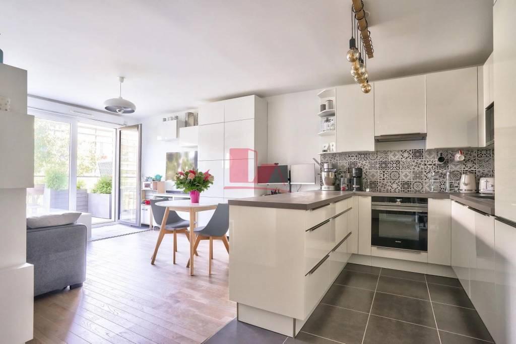 MEUDON Seine - Très beau 3 pièces 59 m² - Immeuble 2018 - Balcon terrasse (12m²) - Parking