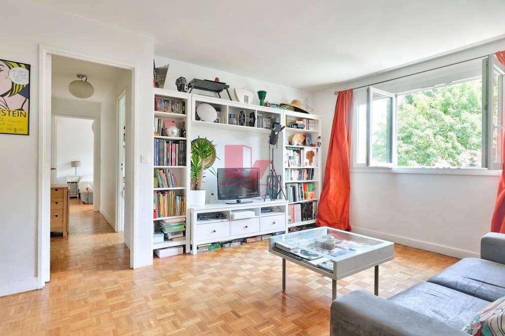 Issy Les Moulineaux - 3 pièces 61,68 m² 6ème étage - balcon - cave