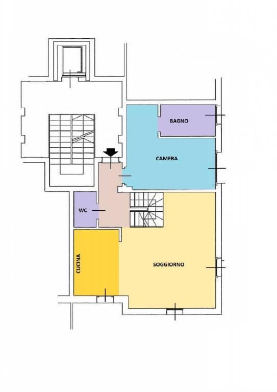 S.Siro - Ippodromo Attico / superattico con terrazzo