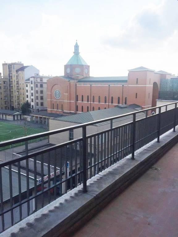 Monte Nero - Bergamo affittasi Bilocale Arredato all'ultimo piano con terrazzo