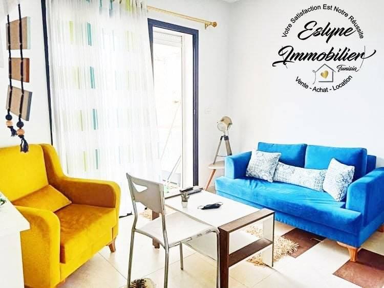 Sublime appartement S+2 à Cité Riath