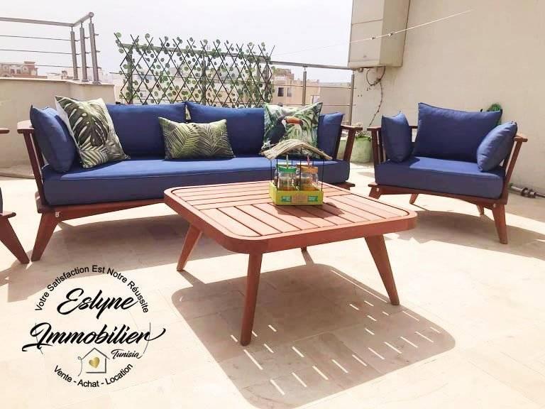 Appartement de luxe S+1 à Hammam Sousse