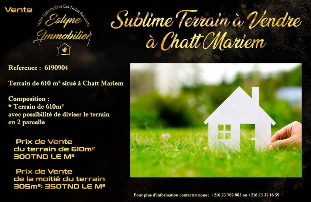 Sale Plot of land Chatt Meriem