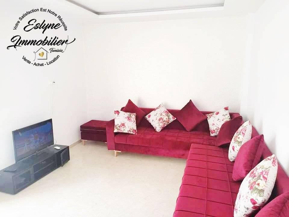 Joli appartement S+2 à Cornich Sousse