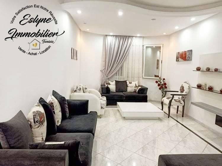 Sublime appartement S+2 meublé à Sahloul 2
