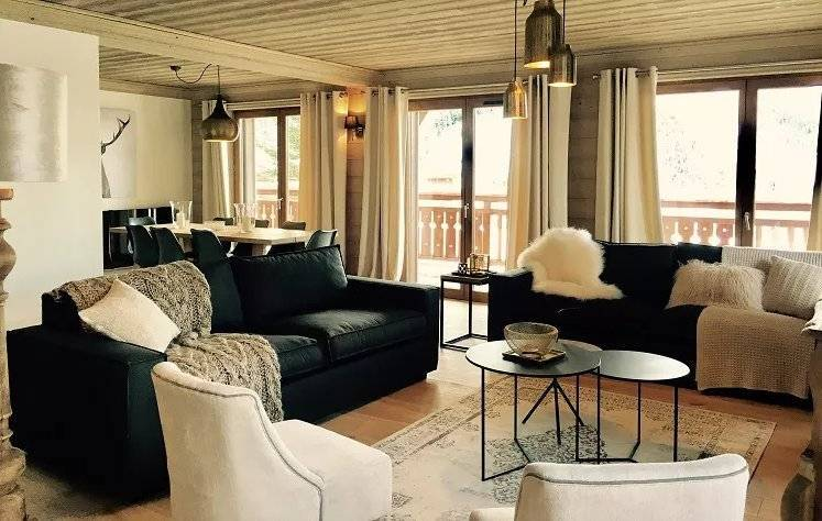 Apartment near the center of Courchevel Moriond resort