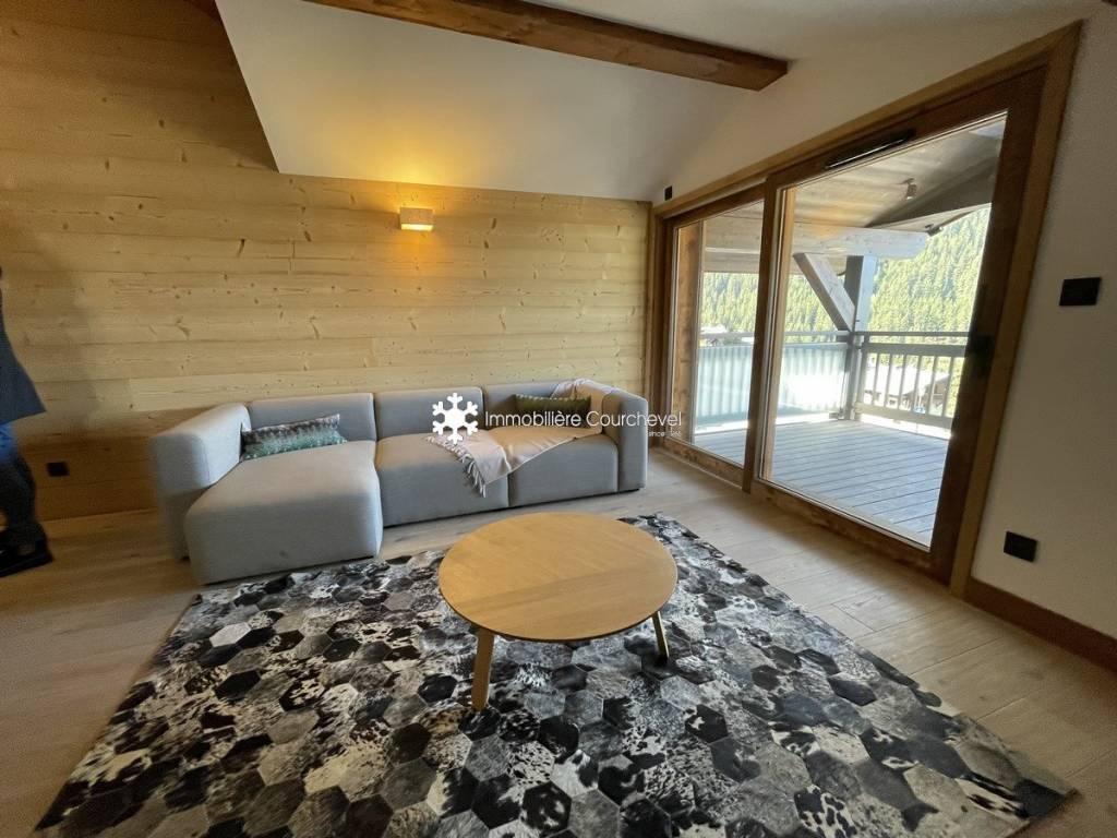 Appartement dans une résidence neuve à Courchevel Moriond