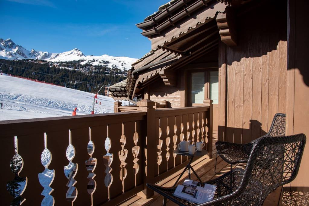 Apartment in a luxury residence in Courchevel Moriond