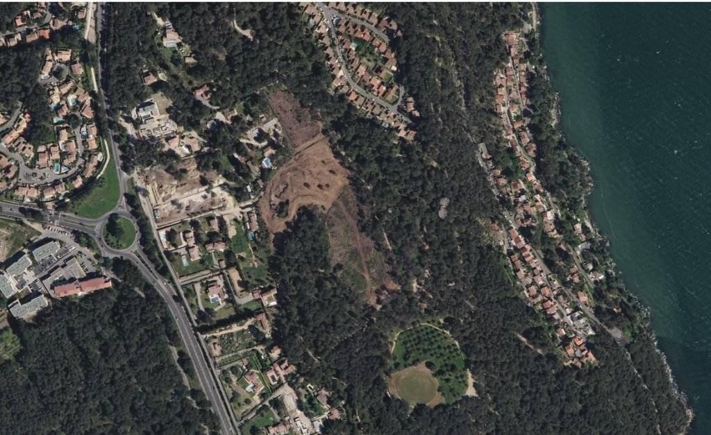 Terrain Istres situation dominante 603 m2