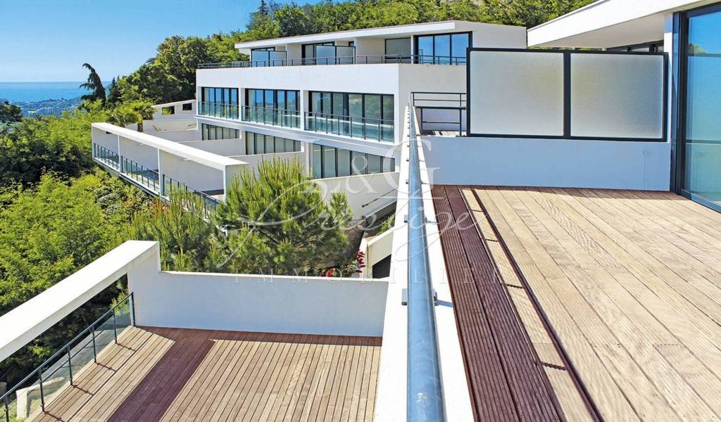 Triplex Ultra Contemporain 90m², 4 parkings, terrasses 80m².