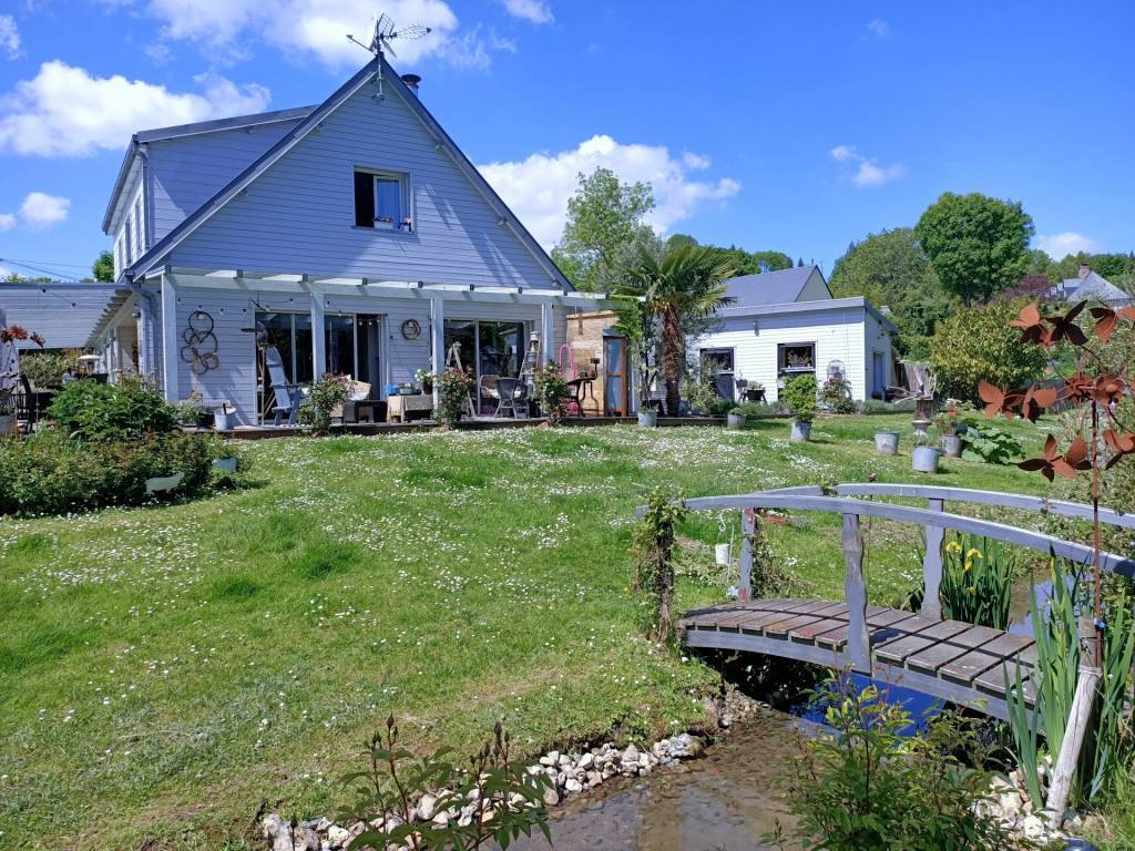 Saint-Hymer - maison 7 pièces - 257m2