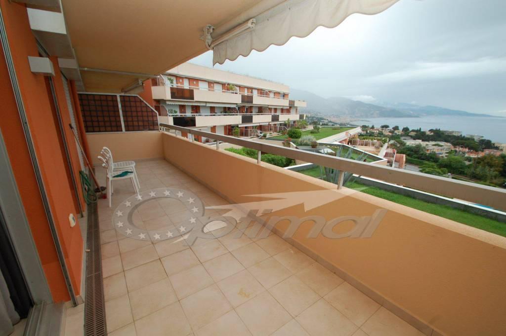 appartamento bilocale in vendita sul Cap Martin vicino a Montecarlo