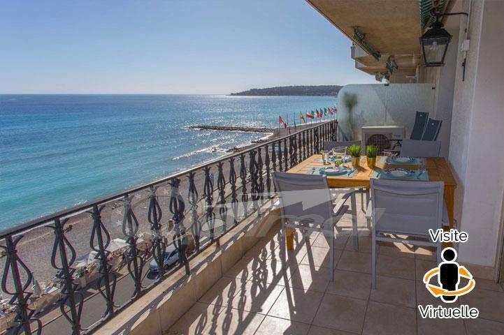 Magnifique 3P face mer avec terrasse et parking