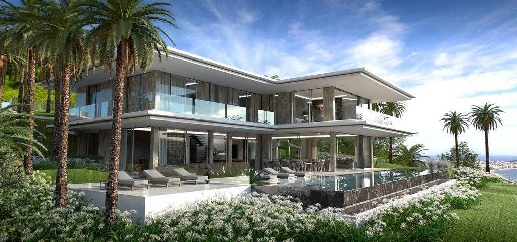 SUPER CANNES EXCEPTIONAL CONTEMPORARY VILLA