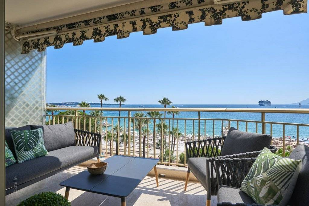 CANNES CROISETTE - SUPERB 4 ROOMS RENOVATED