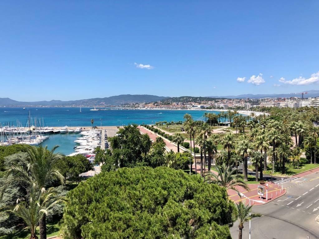 Apartment Croisette Cannes panoramic sea view