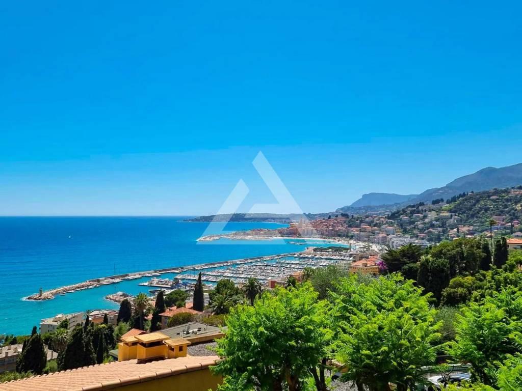 Apartment/Villa - Menton panoramic sea view