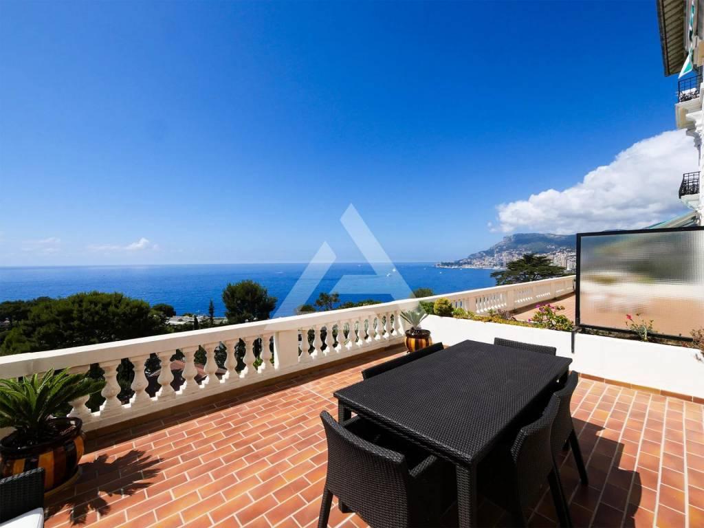 Roquebrune Cap Martin - Magnifico appartamento con vista mare