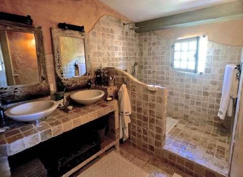 Salle de bains Carrelage Mur en briques