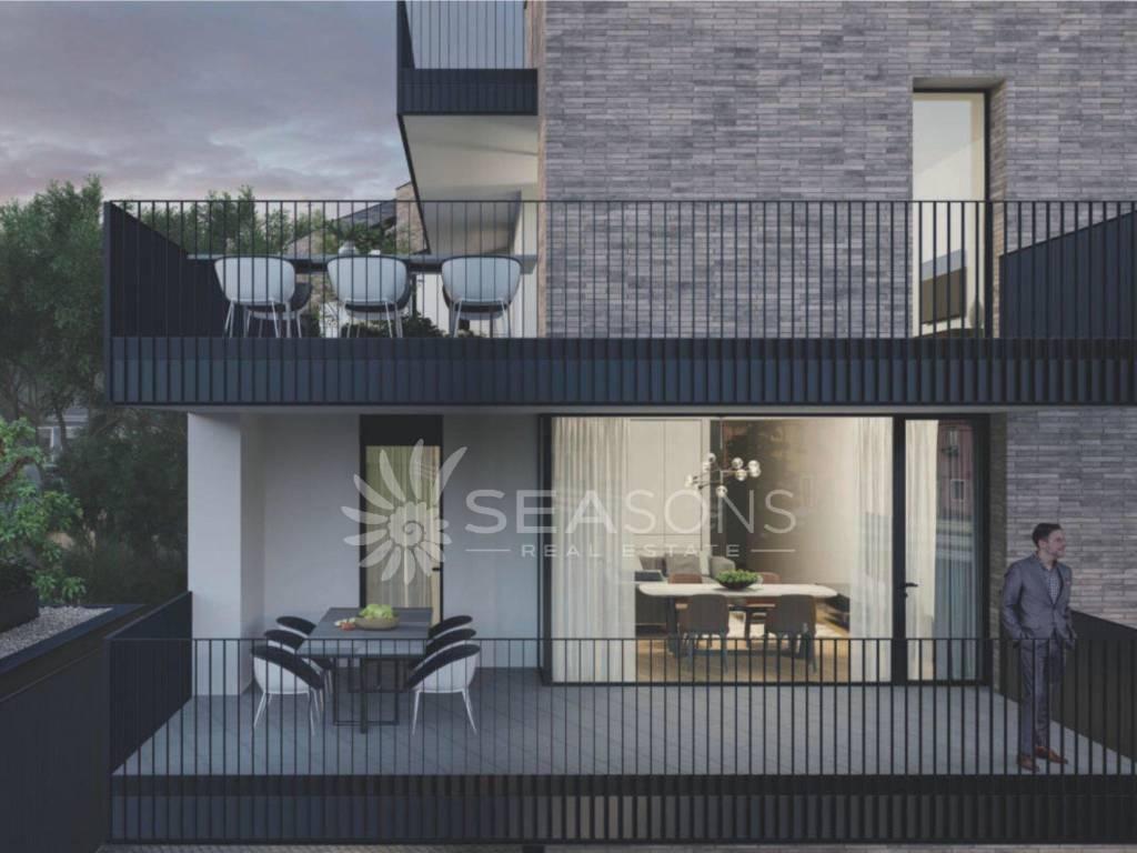 treviso 3 bedrooms 3 bathrooms balcony 55sqmt