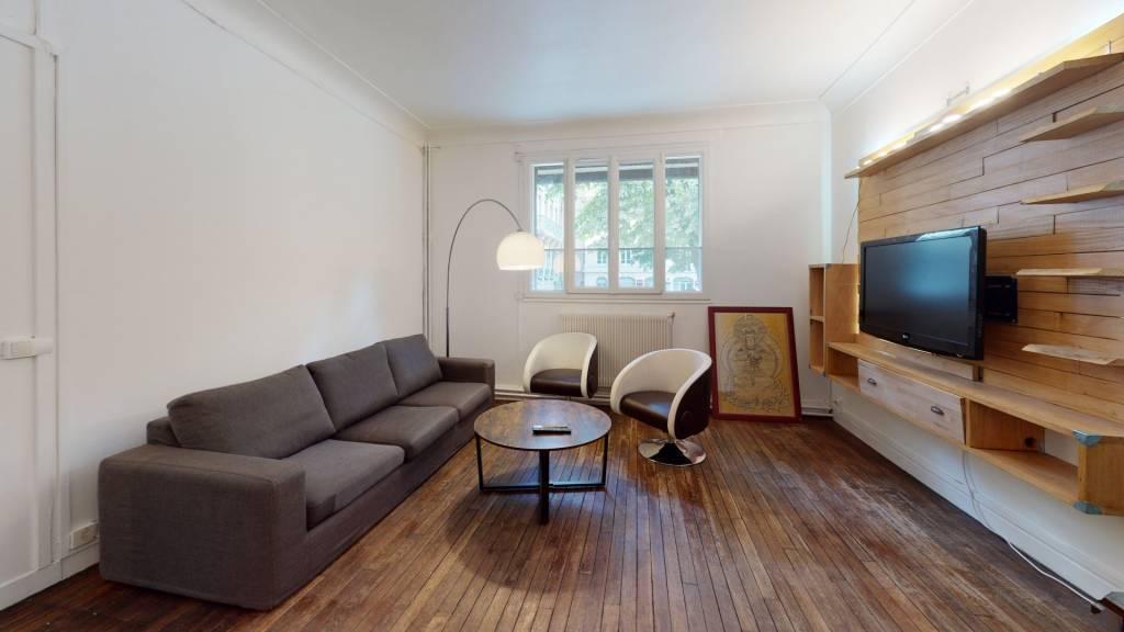3 pièces meublés - hyper centre