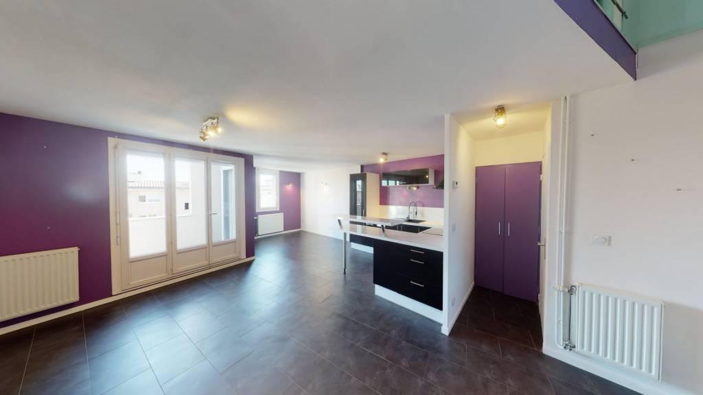 Appartement Duplex  3 pièces 67,76 m2