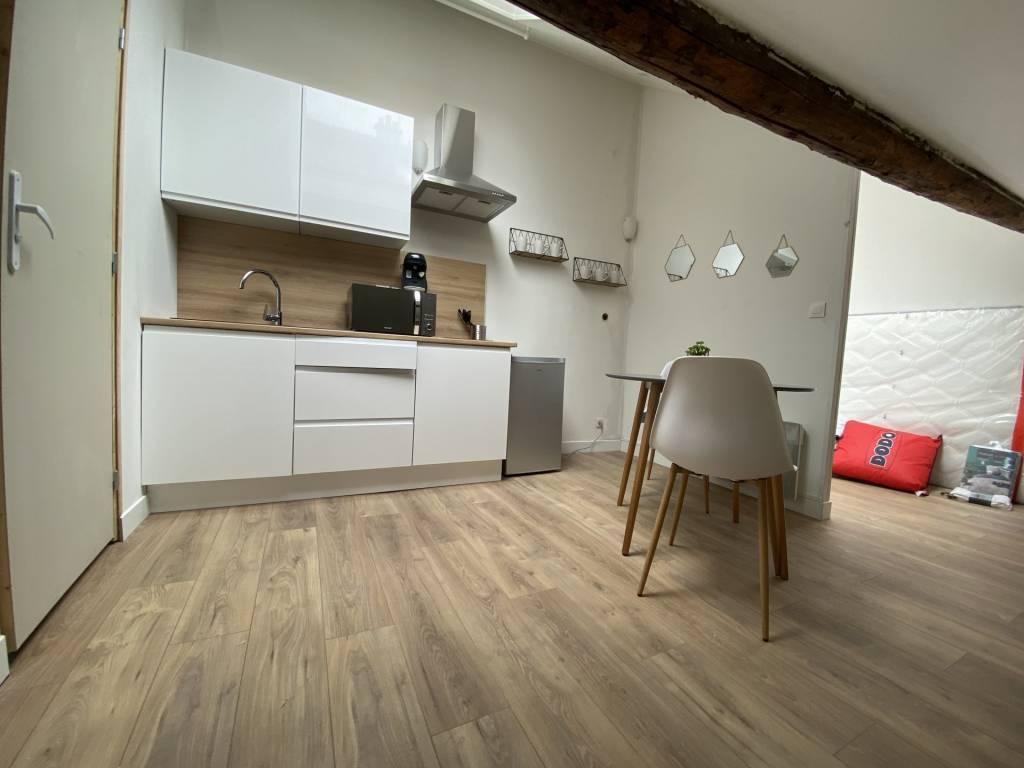 Studio meublé - secteur Jean Jaurès